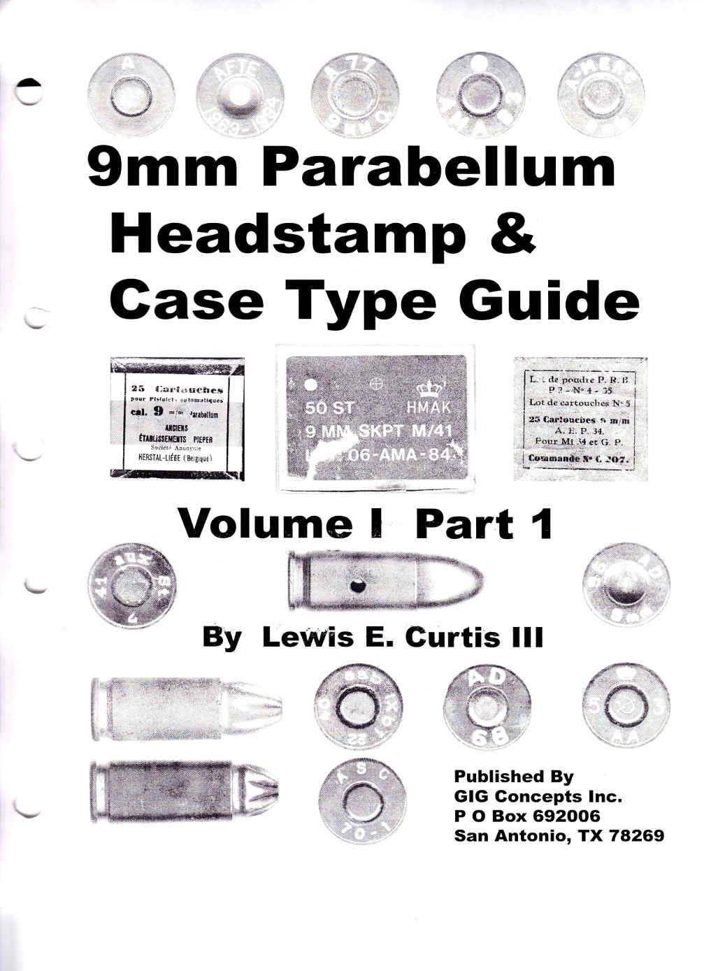 9 mm Para Headstamp & case type Guide Vol.1 Part 1